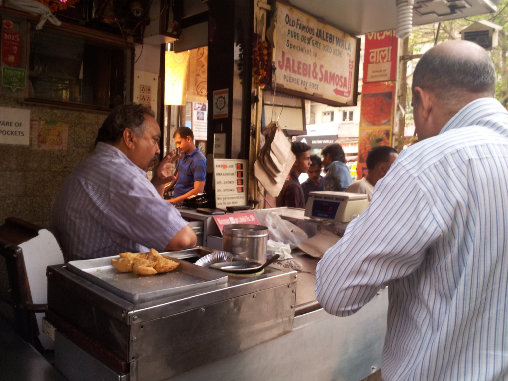 Eating through centuries in Delhi