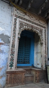 Door in a haveli off Kinari bazaar