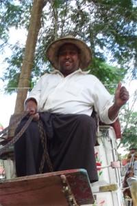 A Bihari migrant in Pyin Oo Lwin in Myanmar