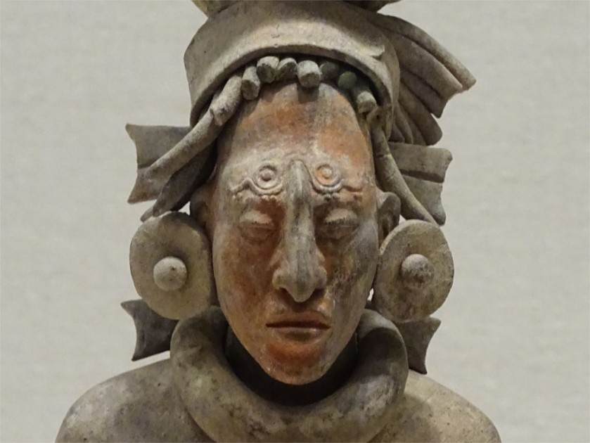 Warrior from Jaina in Mexico, AD 650-800 in Art Institute of Chicago