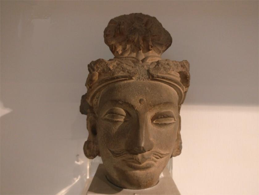 Bodhisattva from Gandhara ca 2nd century CE, National Museum, Delhi