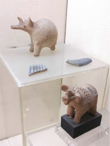 Two indus figurines, National Museum, Delhi