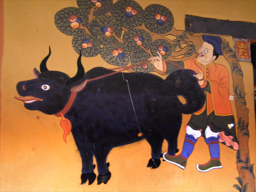 Snow Lions and lotus: a gallery of paintings from Bhutan