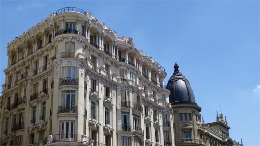 Madrid: Gran Via and Calle de Hortaleza