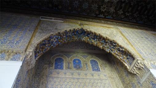 A niche and arches