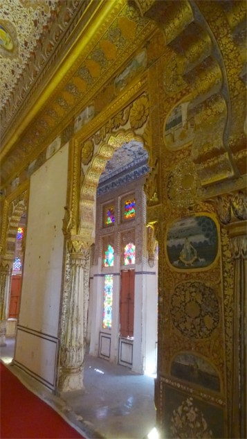 Phool Mahal and its outer passage