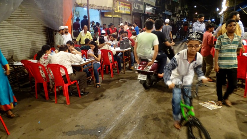 Street food is nothing without a street