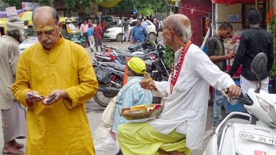 A devotee, no longer good for a sale