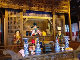 The city god, Qin Yu Bo