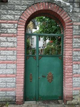 Gate to Hasan Unsi Lodge, built in 1509 CE