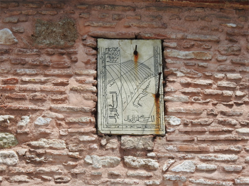 Sundial, could it be by Mimar Sinan?